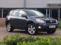 BARGAIN 2007 TOYOTA RAV4, 4x4 LOW MILES, ONE OWNER, HPI CLEAR JUST BEEN SERVICE