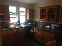1st floor unfurnished large 2 bedroom flat.