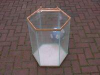 Large Hexagon 80L fish tank aquarium NO LID kot