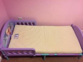 Frozen Toddler bed £35