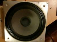 Wharfedale dovedale xp2 bass unit,speaker