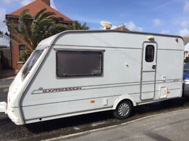 Abby Expression 2 berth Caravan ready to go for the season