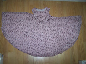 GORGEOUS GIRLS SUMMER, SPRING, PARTY DRESS AGE 4-5 TU SAINSBURY'S