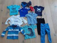 boys clothing bundles age 4-5, wellies, sandals etc
