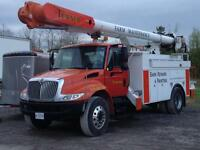 60 ft working height boom truck