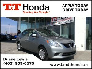 2014 Nissan Versa SV *Local Car, No Accidents, Bluetooth