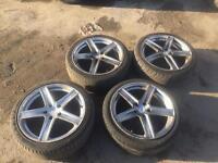 Lexus is200 225/45/18 - 18 Inch FOX alloy wheels 225/40/18