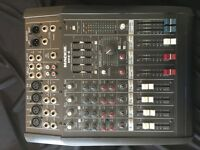 Mackie DFX-6 mixing desk, six channel passive mixer with digital stereo effects.