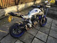 Yamaha MT07 for sale