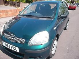 TOYOTA YARIS FACELIFT 1.0 VVT- i T3 AUTOMATIC 2003/53 ONLY 30K 2 PREVIOUS OWNERS