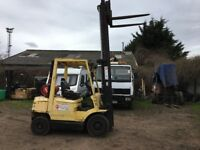 2003 Hyster 2.50 gas forklift truck with side shift