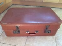 Vintage suitcase - theatre prop, display, storage