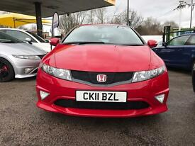 Honda Civic type R GT 2.0 petrol 3 door hatchback