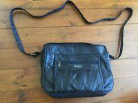Black leather Lorenz handbag