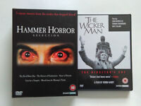 The Wicker Man SPECIAL EDITION and Hammer Horror Box set