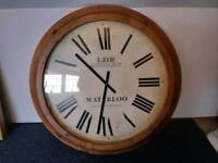 Solid pine Clock