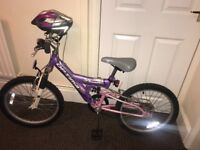 Children's Bike and hamlet FOR SALE 7 Years +