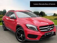 Mercedes-Benz GLA Class GLA 220 D 4MATIC AMG LINE (red) 2016-06-24