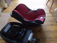 Maxi Cosi Car Seat & Cabrio Fix Easy Base 2