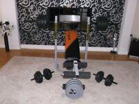 weights etc