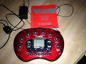 Line 6 Pod X3 Guitar Effects Processor.