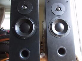 DYNAUDIO AUDIENCE 60 SPEAKERS BLACK 150 WATTS Glasgow G696AZ