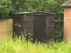 Garden shed 6 foot by 8 foot