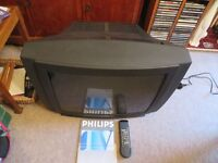 Old Style Philips TV with original stand