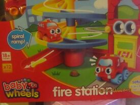 Fire Station - Baby Wheels. Games for 18+ Months