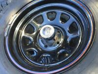 Jeep yj set of 5 tires and rims