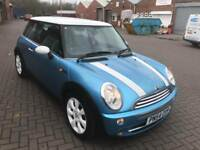 mini cooper 2005 54 plate facelift model leather seats 120k service history mot