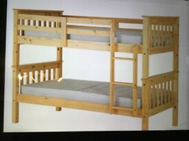 WANTED BUNK BEDS