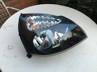 Renault clio head front light new complete with all the bulbs for sale