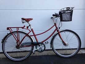 LADIES PASHLEY BICYCLE AS NEW - (ONLY 20 MILES ON THE CLOCK)- STURMEY ARCHER 5 SPEED GEARS