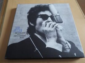 Bob Dylan boxed set of 3 CDs - the Bootleg Series