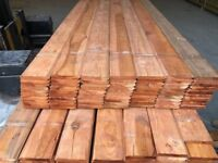 shiplap timber cladding loglap log lap PREMIUM THICKNESS treated 125x25