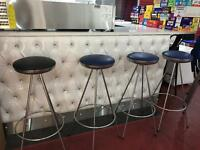 Bar bistro retro mid century stools stool