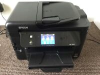 EPSON WF-3540 WORKFORCE - Printer, Scanner, Fax, Wl-Fi, Ethernet. Complete with 2 sets of injets
