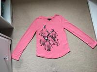 Gap Penguin-themed top (girls) age 10 yrs