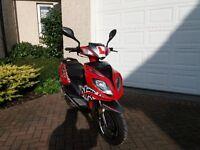50cc KSR Moto SIRION Scooter