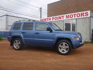 2007 Jeep Patriot LIMITED/LOADED/LEATHER/ROOF/HEATED SEATS