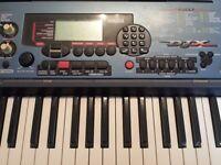Yamaha DJX keyboard synthesiser