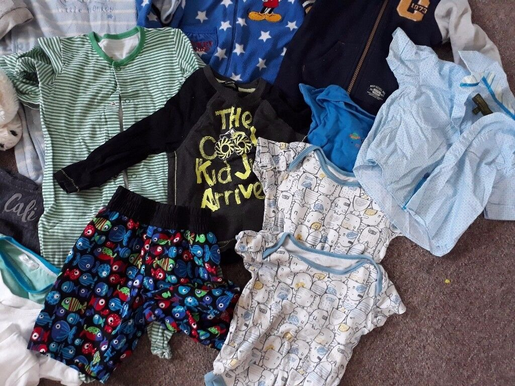 Baby boy clothes size 12-18