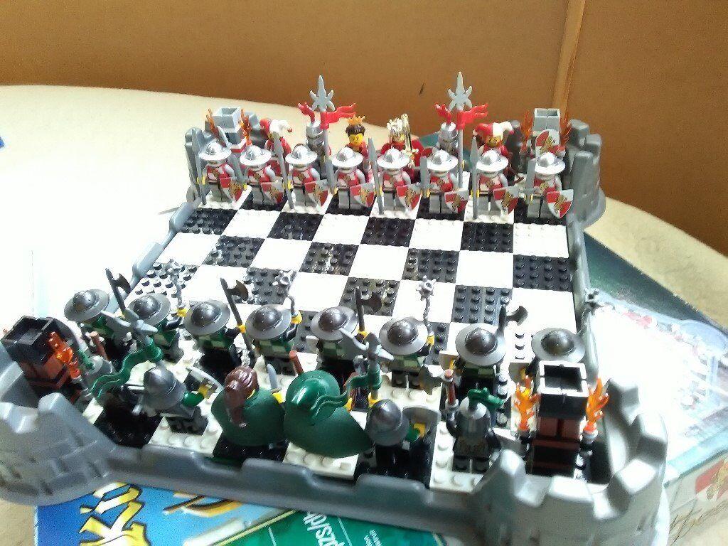 lego chess set instructions