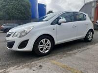 2013 62reg Vauxhall Corsa 1.3 Cdti Exc White 5 Door FULL MOT