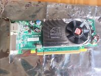 ATI Radeon HD 3450 256MB DDR2 PCI Express (PCI-E) DVI Low Profile Video/Graphics Card