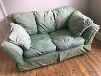 Snuggly small sofa 170cm wide - free!