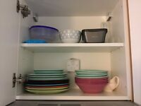 Perfect, Colorful ceramic plates and bowls