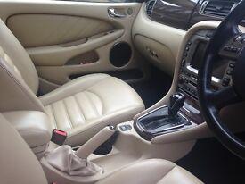 Jaguar XType FACELIFT Automatic luxury car Beautiful cream leather