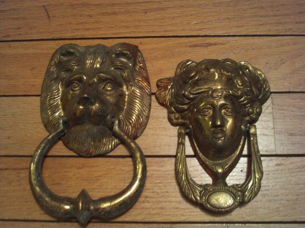 2 Brass Knockers